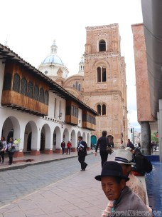 New cathedral, Cuenca Ecuador