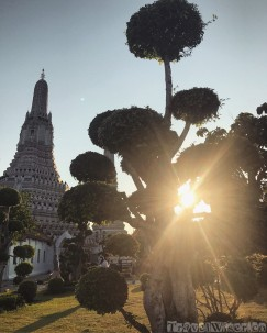 Wat Arun at sunset
