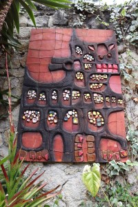 Ceramic art by Eduardo Vega