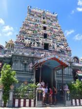 Hindu temple, Victoria Mahe