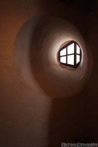San Diego Monastery window