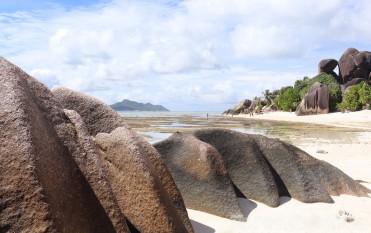 Anse Source d'Argent beach on La Digue Island Seychelles