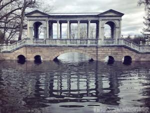 Ornamental bridge in Catherine's Park, Tsarskoye Selo
