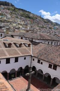 Rooftop view, Monastero de San Diego Quito