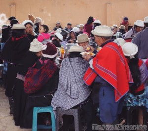 Market foodcourt, Ecuador