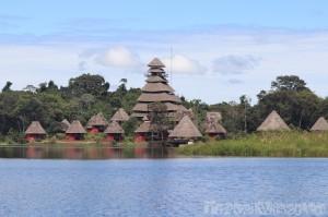 Napo Wildlife Center by the lake, Ecuadorian Amazon