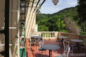 Pax Guesthouse terrace