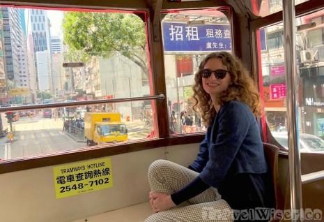 Travel Wiser by tram in Hong Kong