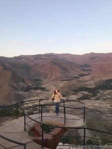 View from Ben Abeba restaurant Lalibela