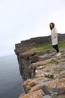 Dun Aengus on its bluff