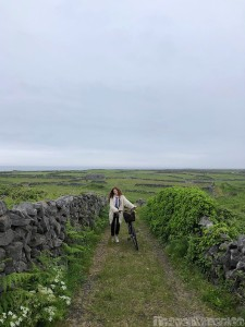 Cycling on Inishmore