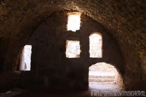Karak Castle interior