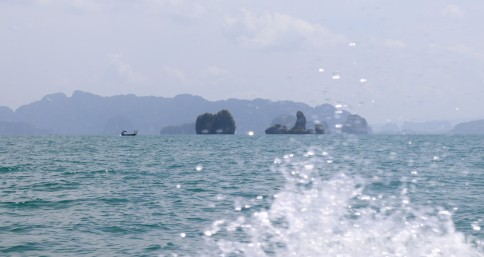Boat trip around Phang Nga Bay Thailand