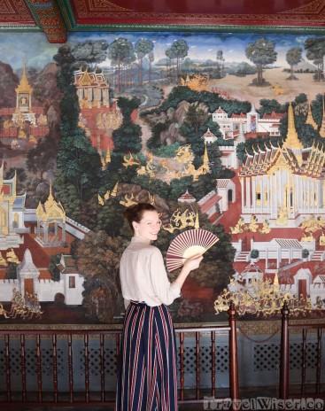 Ramakian murals Wat Phra Kaew Bangkok