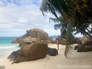 Anse Patates beach La Digue, Seychelles