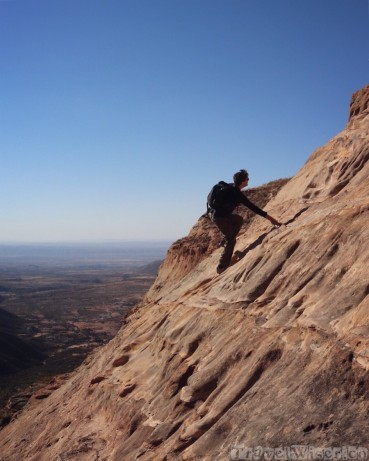Climbing to Tigray's rock-hewn churches