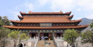 Po Lin Monastery, Lantau Island Hong Kong