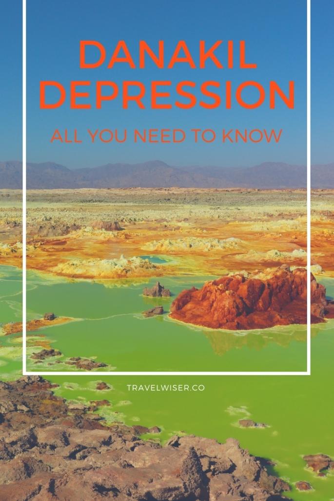 Danakil Depression Ethiopia Travel Wiser Pinterest pin