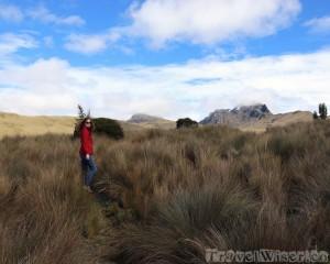 Hiking at Loma Cruz Quito