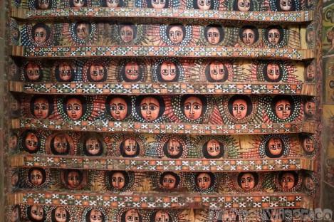 Debre Birhan Selassie ceiling with angels