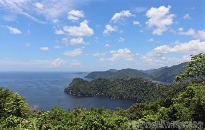 La Vache viewpoint Trinidad