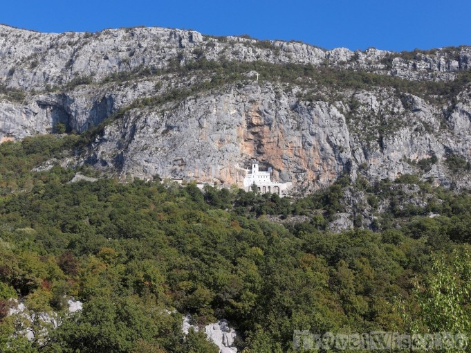 Ostrog Monastery church Montenegro