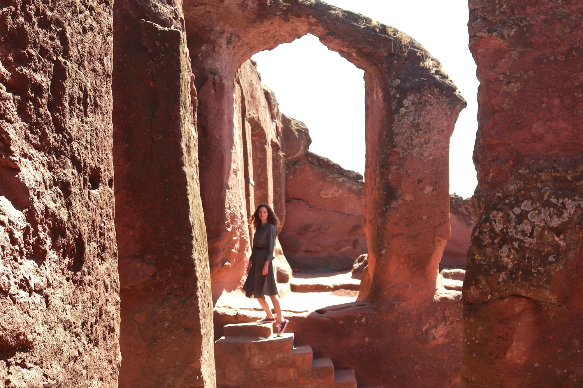 Travel Wiser with Sofie in Lalibela, Ethiopia