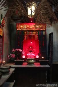 Altar in Tin Hau Temple Causeway Bay