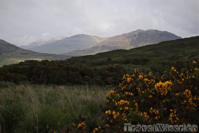 Connemara National Park Diamond Hill view