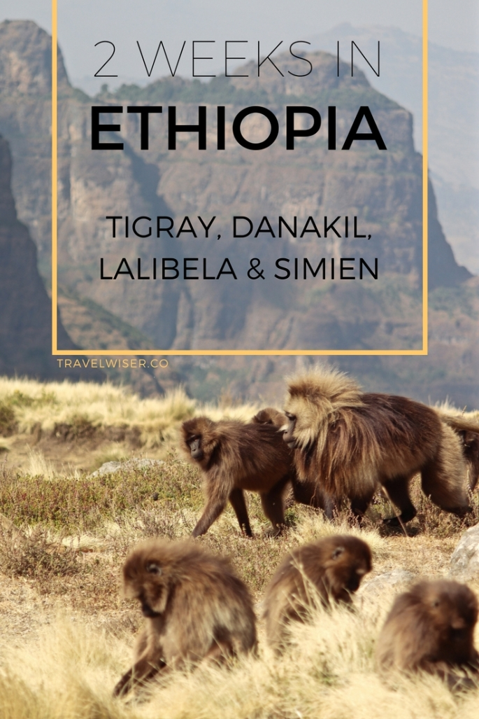 2 weeks in Ethiopia: Tigray, Danakil, Lalibela and Simien Travel Wiser