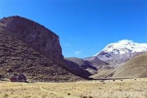 Chimborazo Lodge at the foot of Volcan Chimborazo, Ecuador