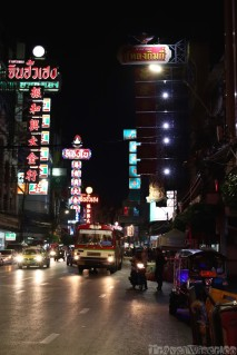 Bangkok Chinatown by night