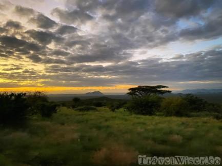Sunrise game drive at Saruni Samburu