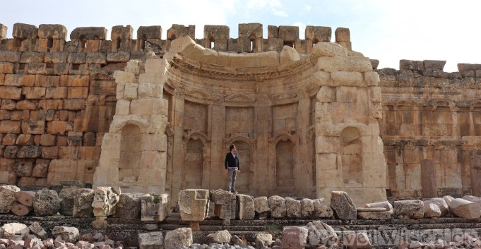 Baalbek's Great Court