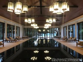 Aman Sveti Stefan indoor pool