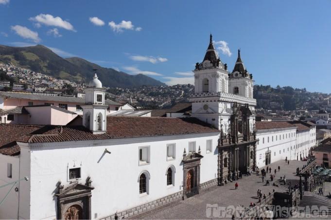 Iglesia San Francisco Quito