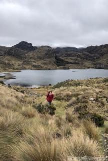 Hiking at Parque Nacional Cajas, Ecuador