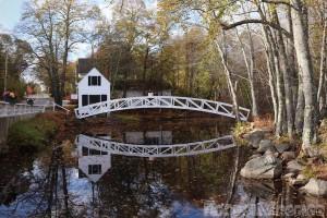 Somesville footbridge, Mount Desert Island Maine