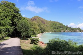 The scenic roads of Praslin