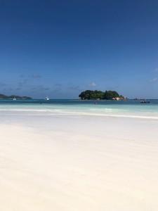 Chauve Souris from powdery white Anse Volbert beach