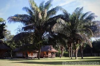 Rewa Eco Lodge guest cabins