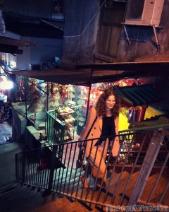 SoHo Central Hong Kong by night