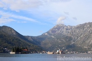 Our Lady of the Rocks Island in front of Perast, Bay of Kotor Montenegro