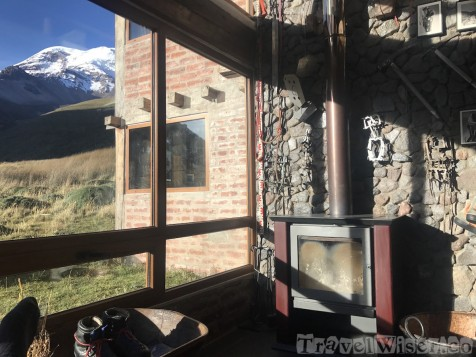 Chimborazo Lodge mountain view rooms