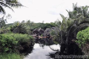 Grande Anse interior, La Digue Seychelles