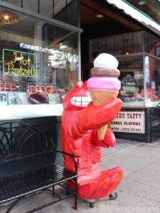 Lobster at Ben&Bill's Bar Harbor