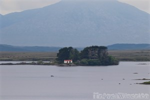 Lonely house, County Galway