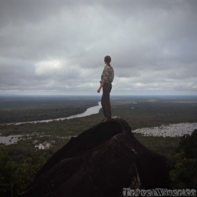 On top of Awarmie Mountain, Guyana rainforest Rewa