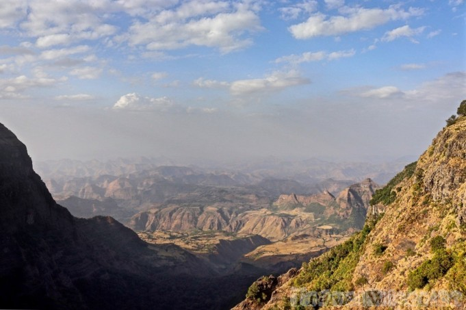 Simien Mountains view, Ethiopia