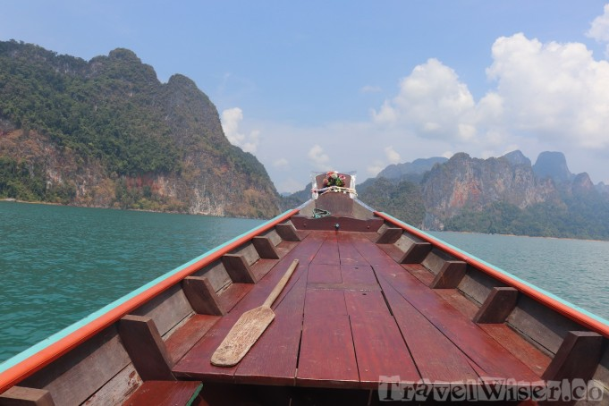 Cheow Lan Lake boat tour, Khao Sok National Park